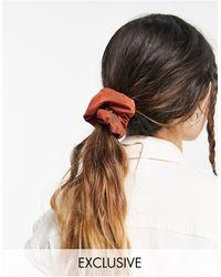 Collusion Коричневая Резинка Для Волос -коричневый Цвет
