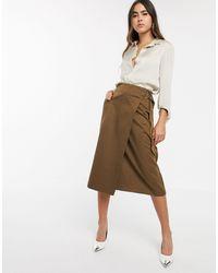 Warehouse Utility Wrap Skirt - Green