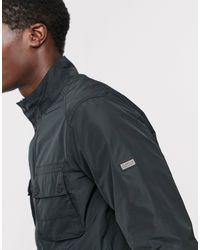 Barbour Черная Куртка С Карманами -черный Цвет