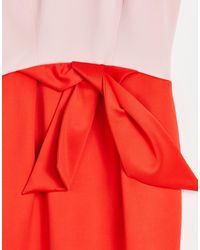Ted Baker Tulip Bow Dress - Red