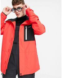 Planks Feel Good Insultated Ski Jacket - Red