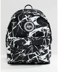 Hype - Backpack In Marble Print - Lyst 2c1787d62d7a3