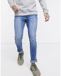 Dr. Denim Snap Skinny Jeans - Blue
