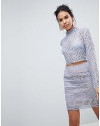 Keepsake - Sweet Nothing Crochet Lace Top - Lyst