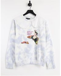 New Girl Order Relaxed Sweatshirt - Grey