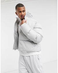 ASOS Puffer Jacket - Grey