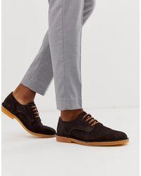 SELECTED - Коричневые Замшевые Туфли -коричневый - Lyst