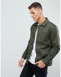 Threadbare - Cotton Worker Jacket - Lyst