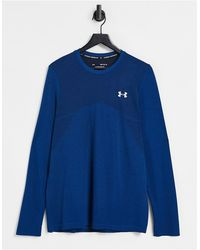 Under Armour Training Seamless Long Sleeve Top - Blue