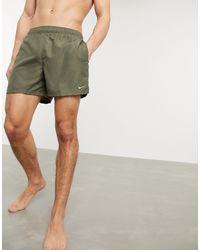 "Nike Pantaloncini beach volley da 5"" kaki - Verde"