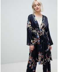 Pepe Jeans - Harpers Floral Print Wrap Dress - Lyst