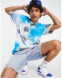 Nike Premium Essentials Oversized Tie-dye T-shirt - Blue