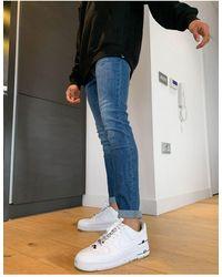Lee Jeans Malone - Skinny Jeans Met Stretch - Blauw