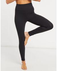 & Other Stories Co-ord Yoga leggings - Black