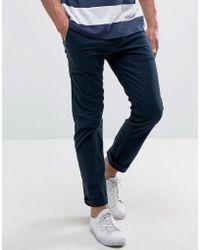 Hollister Skinny 5 Pocket Pants In Blue