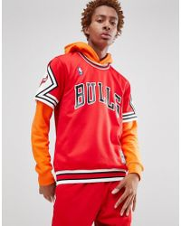 Mitchell & Ness - Nba Chicago Bulls T-shirt In Red - Lyst