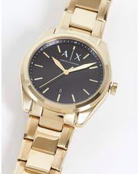 Armani Exchange Мужские Часы-браслет Mens Giacomo Ax2857-золотистый - Металлик