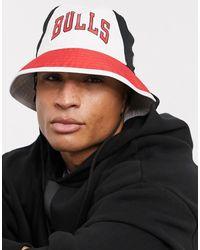KTZ Nba Chicago Bulls Bucket Hat - White