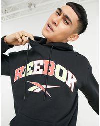 Reebok Classics Basketball Hoodie - Black