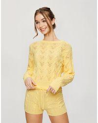 Miss Selfridge Jersey amarillo