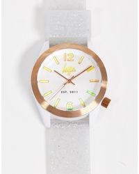 Hype Белые Часы С Блестками На Ремешке -белый