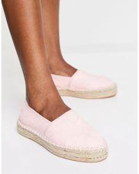 South Beach Terry Espadrilles - Pink