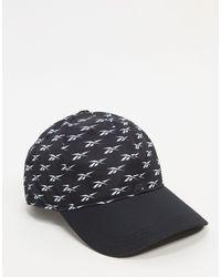 Reebok Черная Кепка Tech Style-черный Цвет