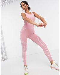 PUMA - Розовые Бесшовные Леггинсы Training-розовый - Lyst