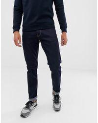 Emporio Armani J06 Slim Fit Dark Wash Jeans - Blue