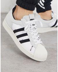 adidas Originals Superstar Bold Low-top Sneakers - Wit