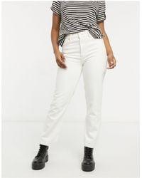 AllSaints Straight Leg Jeans - White