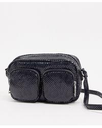 Pimkie Multi Pocket Cross Body Bag - Black