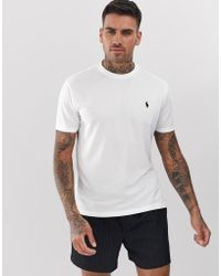 factory price 2df8e 4991a Performance - T-shirt bianca con logo - Bianco