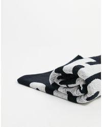 Carhartt WIP Wavy State Towel - Black