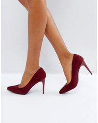 New Look - Pointed Court Shoe - Lyst