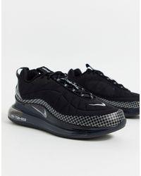 Nike Черные Кроссовки Air Max 720-818-черный