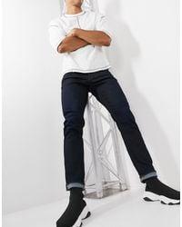 G-Star RAW 3301 - Smaltoelopende Jeans - Blauw