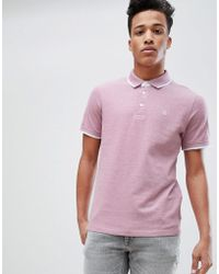 Jack & Jones | Premium Polo Shirt With Tipping | Lyst