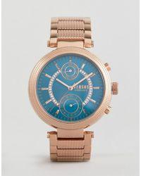 Versus - Star Ferry S7908 Bracelet Watch In Rose Gold - Lyst