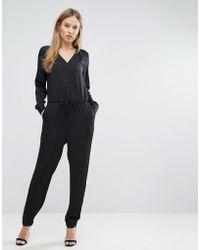 SELECTED Femme Lina Jumpsuit - Black