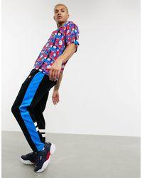 Fila Camisa estampada con cuello - Azul