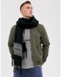 ASOS Woven Blanket Scarf - Black