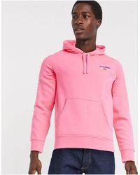 Polo Ralph Lauren Худи Неоново-розового Цвета С Логотипом -розовый