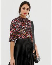 Whistles Floral Meadow - Top - Multicolore