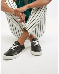 Love Moschino Plimsoll Sneakers - Black