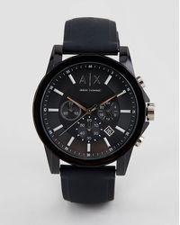 Armani Exchange Ax1326 Outerbanks - Siliconen Horloge - Zwart