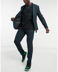 ASOS Skinny Suit Pants - Blue