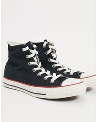 Converse High Top Sneaker-black