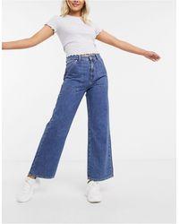 Superdry Frankie Wide Leg Jeans - Blue