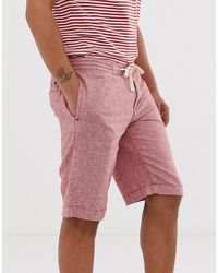 Tom Tailor – Legere Shorts - Rot